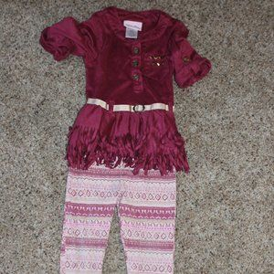 18M Little Lass Matching Outfit